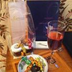 accueil smartbox: champagne et petites douceurs !