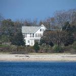 Shoreside house on the North Fork of Long Island.