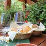 Wine tasting and lunch