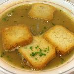 Shellfish cream soup