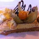Banoffee Pie & Clotted Cream, my desert after another excellent Carvery meal this afternoon