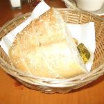 Good crusty, fresh italian bread with lot's of Butter