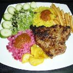 Various steak dishes