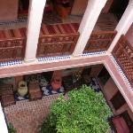 Central interior courtyard