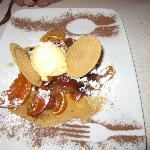 Dessert at Gli Orti di via Elisa a restaurant suggested by B&B