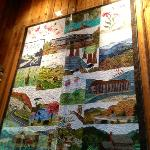 rT quilt of the Blue Ridge Pkwy. sites