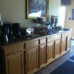 Continental Breakfast area