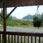 Root Glacier from front porch