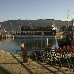 Stunning view from Classico at Knysna Waterfront.