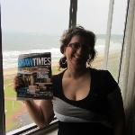 Shaw Times enjoyed the view with me