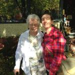 My Grandmother and Myself in Biltmore Village
