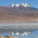 One of many lakes - Salar de Uyuni