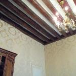 Ceiling in Hemingway room