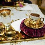 The complimentary Turkish coffee...