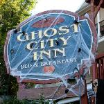 Ghost City Inn decorated fir Halloween 2012