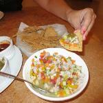 Sierra fish Ceviche (Lemon marinated fish)