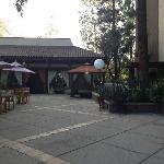 terrasse du lobby