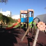 enclosed playground in Alvor