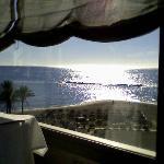 Vue paradisiaque au petit déjeuner...