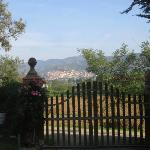 view of Castiglion Fiorentino from gate