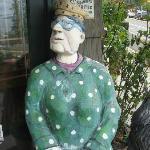 A fun sculpture outside