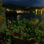View from terrace towards Collioure