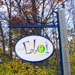 The sign near the Rona entrance