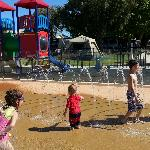 Kids water play area