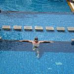 upper level pool