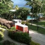 Cane train the comes right throught the resort - Very exciting