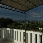 Sicht von Terrasse