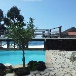 terrase de la piscine