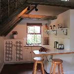 Loft studio kitchenette