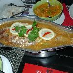 Thai sour steam fish