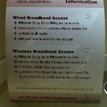 Hotel's Wifi Service