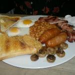 Full breakfast at the Beach Cafe