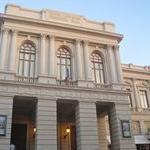 vista frontale del teatro