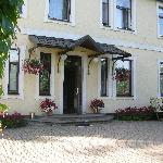 the entrance of the B&B
