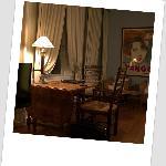 Godt bord og hyggelige lænestole