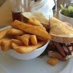 The $38 club sandwich $32 + $6 for delivery