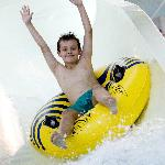 Kids love the flumes!