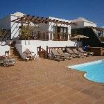 Terrace, pool, hot-tub, bbq
