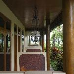 Some of the rooms verandahs