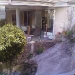 sala vista dall'esterno