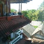 view to the other rooms