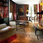 Lounge of Duplex Suite