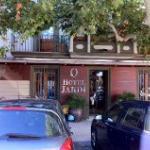 Front entrance Hotel Jardi, Mollerussa
