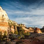 Zion during Sunset