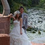 Thailand Wedding Photo Shoot at Lagoon Poolside