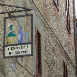 famous wineshop of Ghino